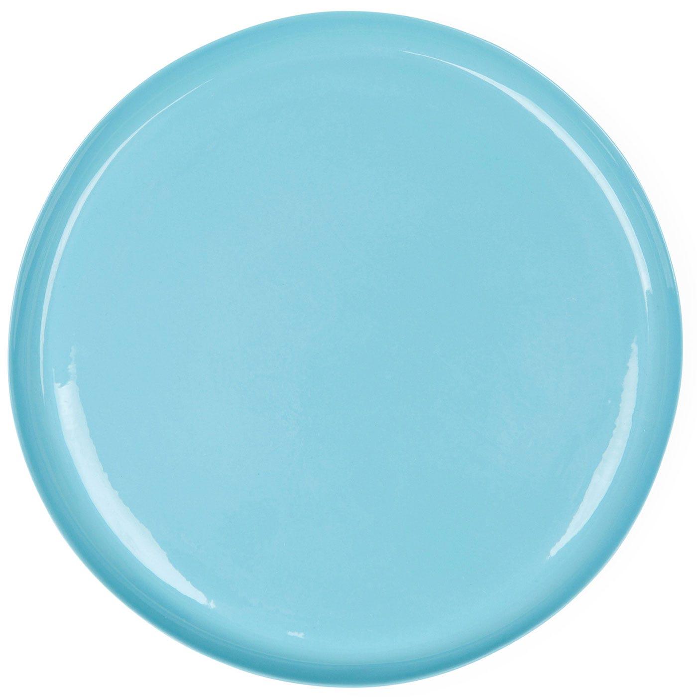 Porcelain Turquoise Dinner Plate