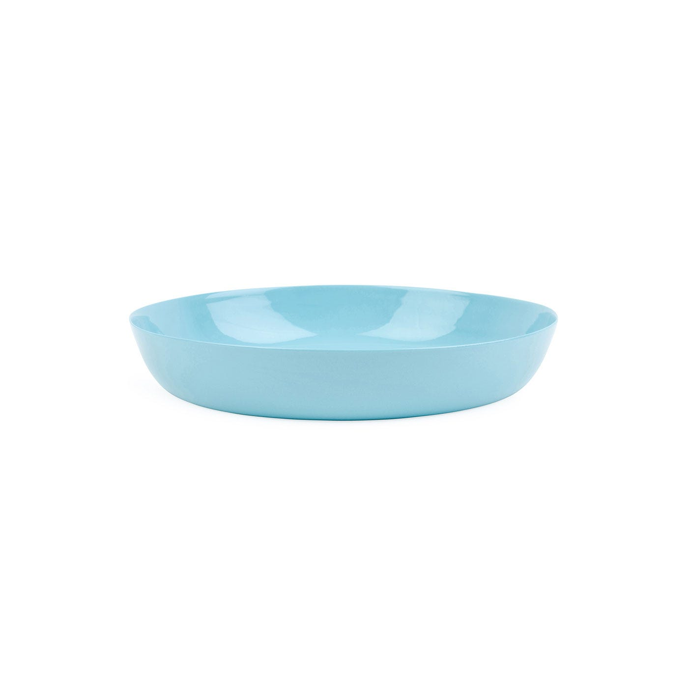 Porcelain Turquoise Cereal Bowl