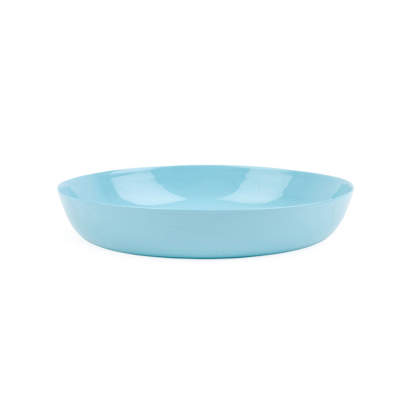 Porcelain Turquoise Pasta Bowl
