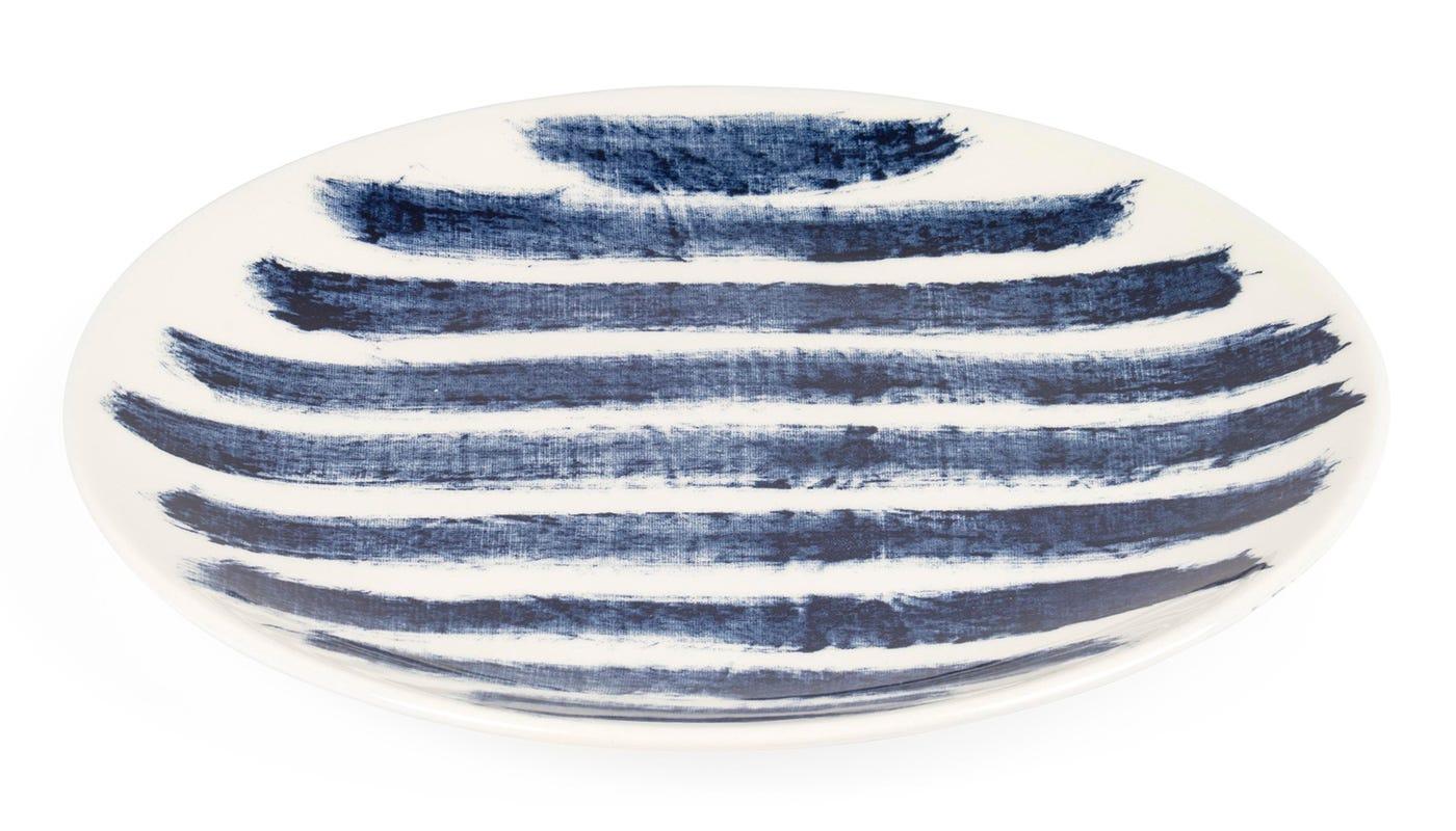 Indigo Rain Salad Plate