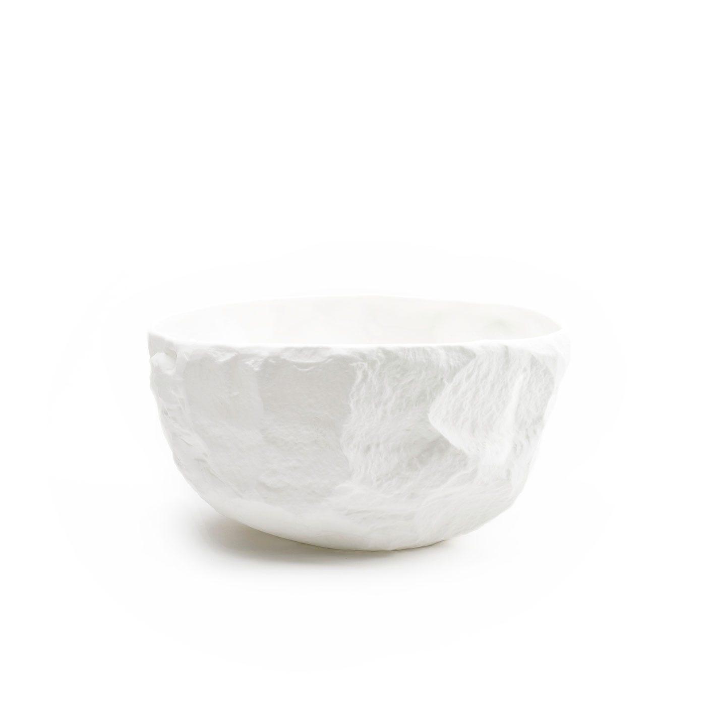 Crockery Deep Bowl Large White