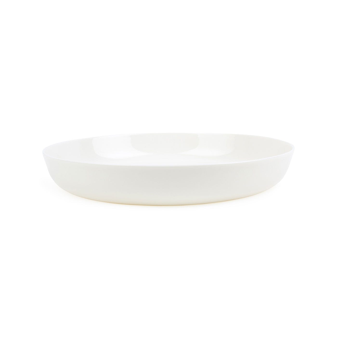 Porcelain Milk White Pasta Bowl