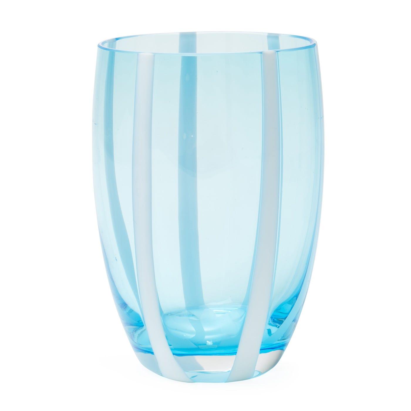 Gessato Highball Aquamarine