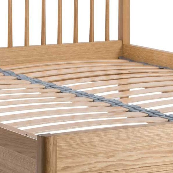 Traditionally wood slatted for strength and comfort.