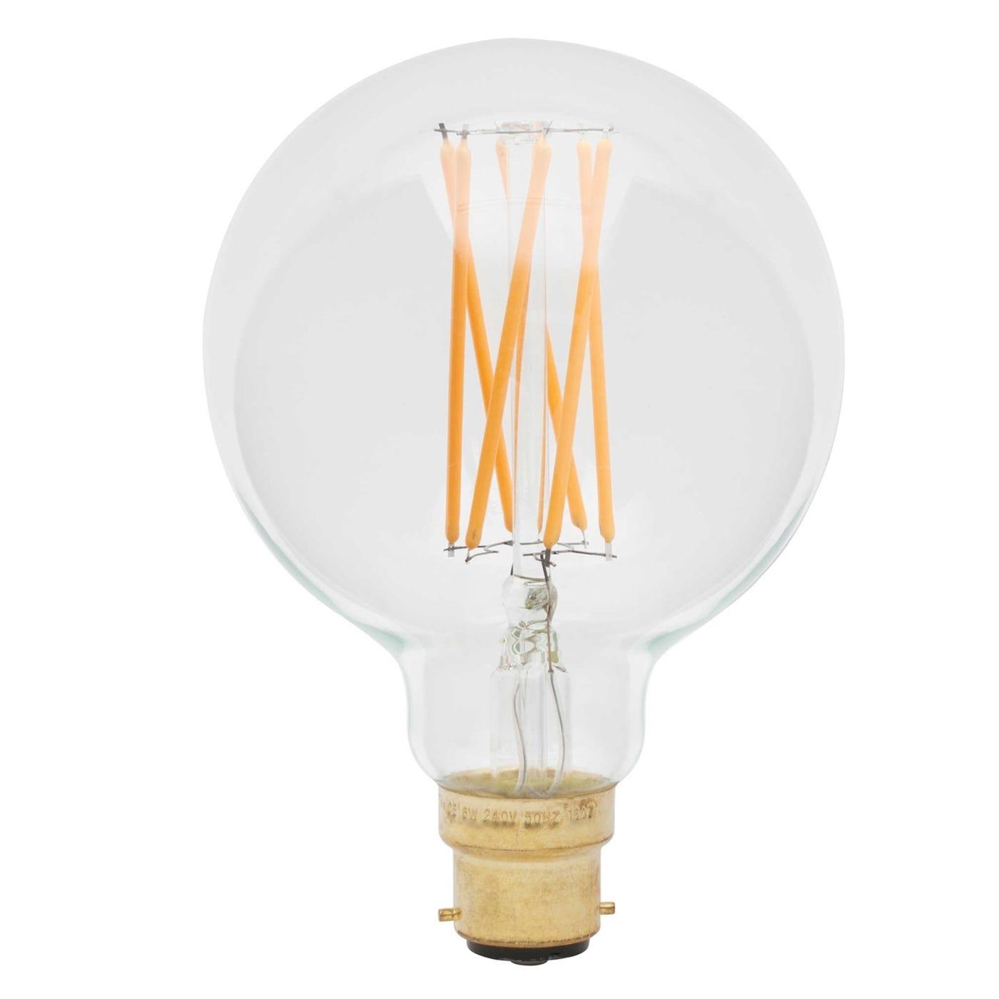 Mega Junction Pack of 8 Elva LED 6W E27 Bulbs