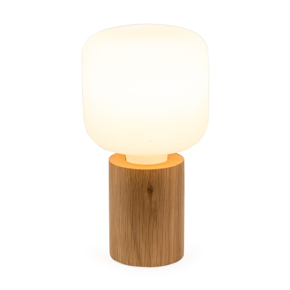 Bristol Table Lamp Oak