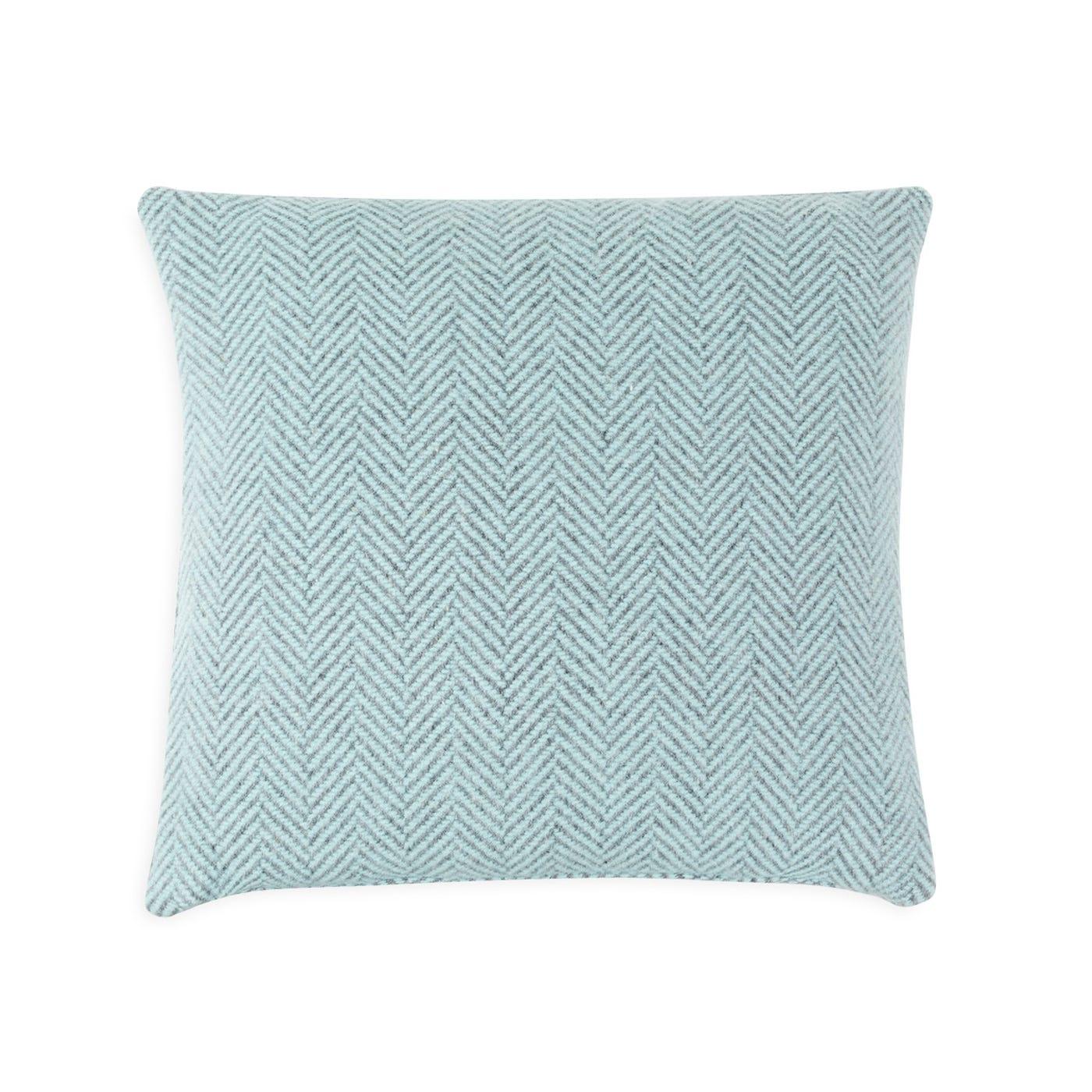 Merino & Cashmere Herringbone Cushion