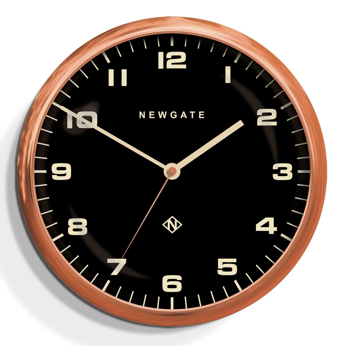Chrysler Wall Clock Copper