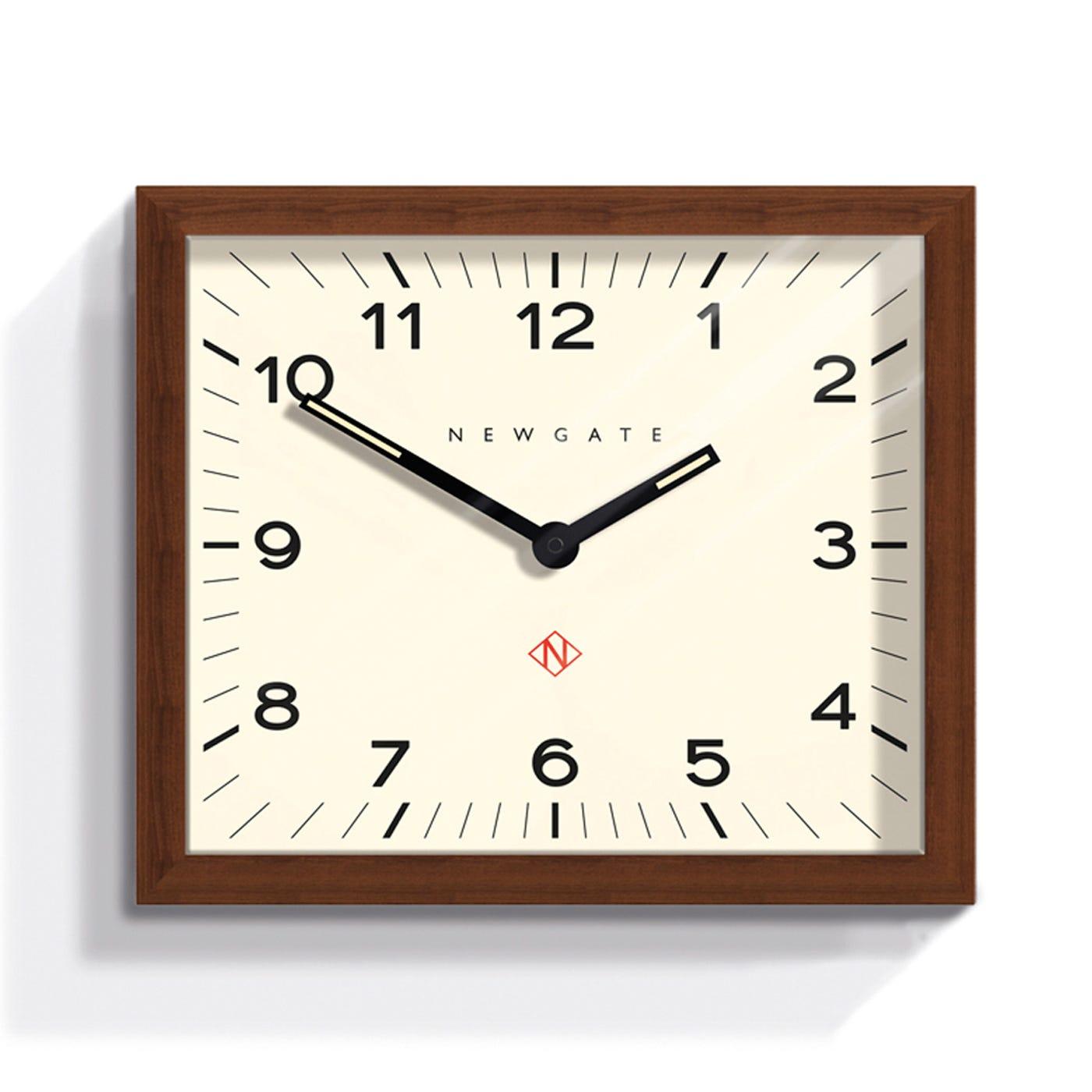 Mr Davies Wall Clock Rectangular