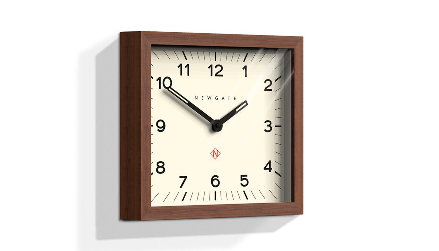 mr davies wall clock rectangular -
