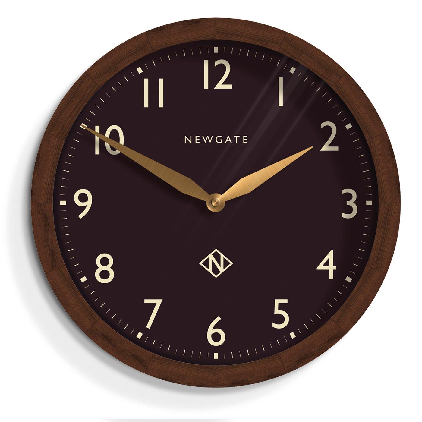 Wimbledon Wall Clock Black