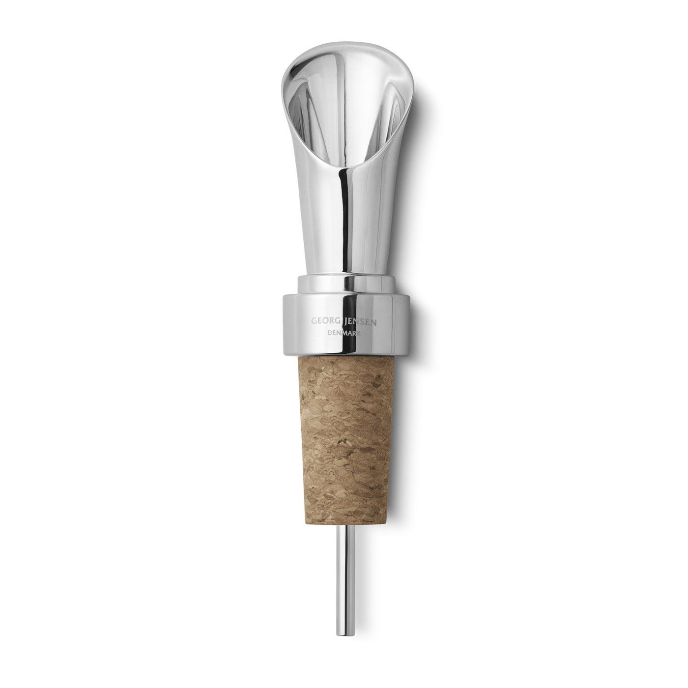 Manhattan Wine Pourer Cork Stopper
