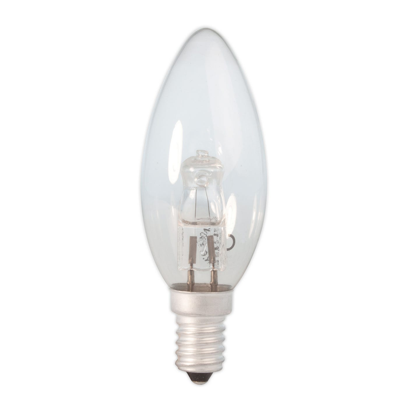 Halogen Candle Lamp 28W Clear E14