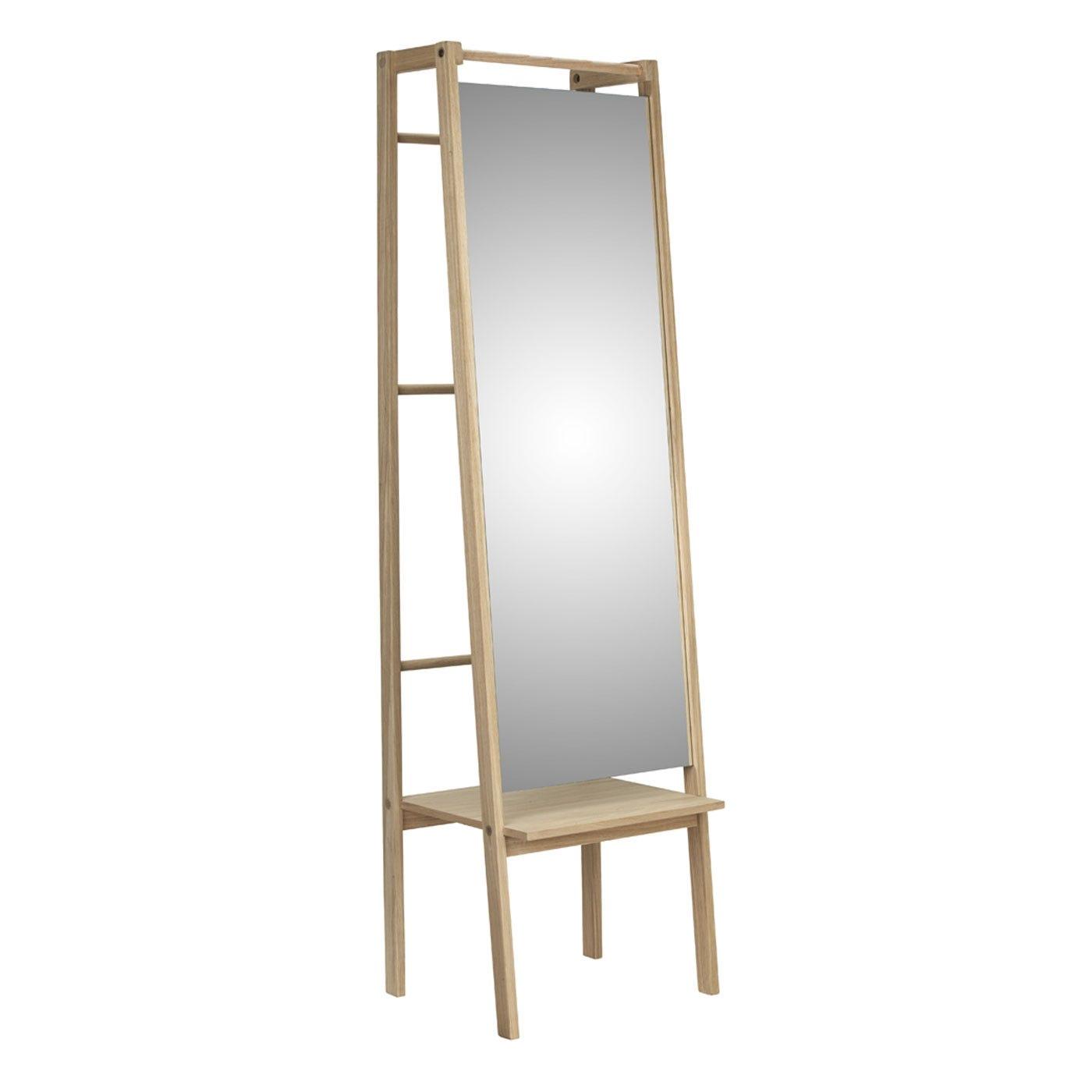 Push Floor Standing Mirror