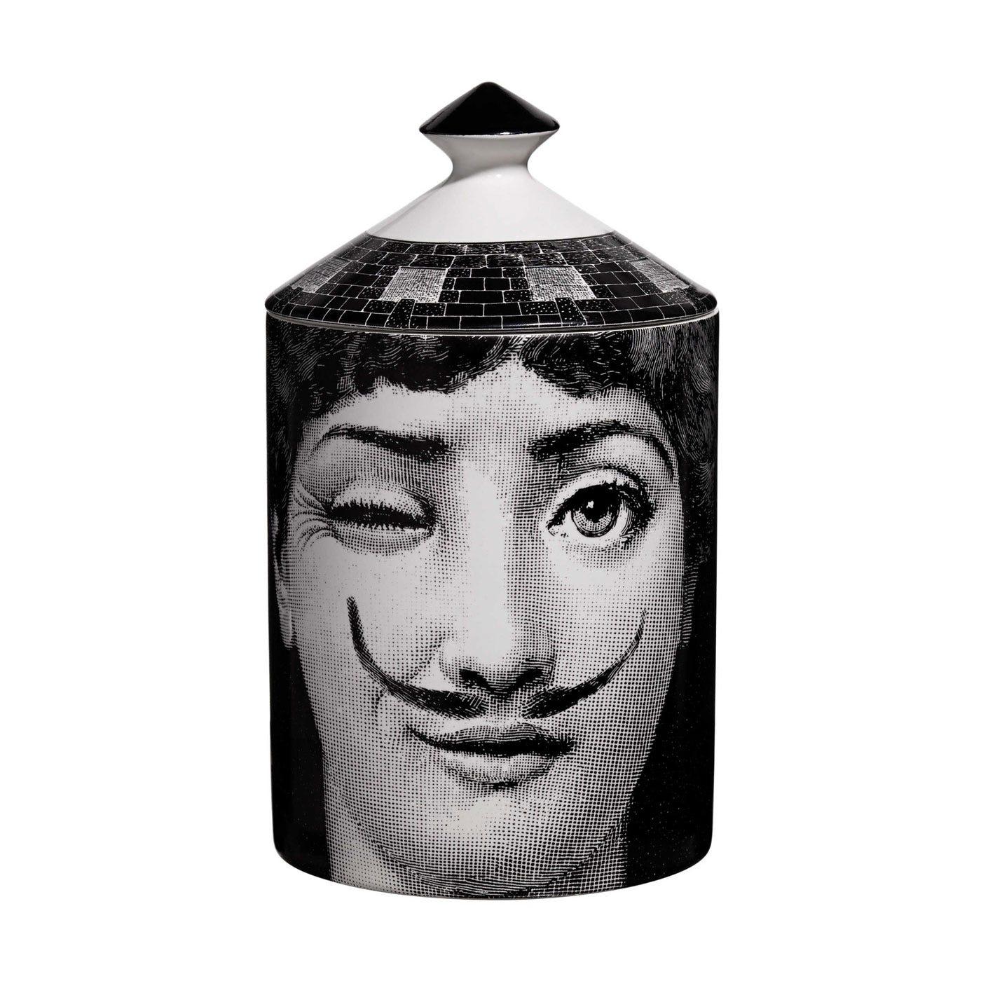 La Femme Aux Moustaches Candle Otto