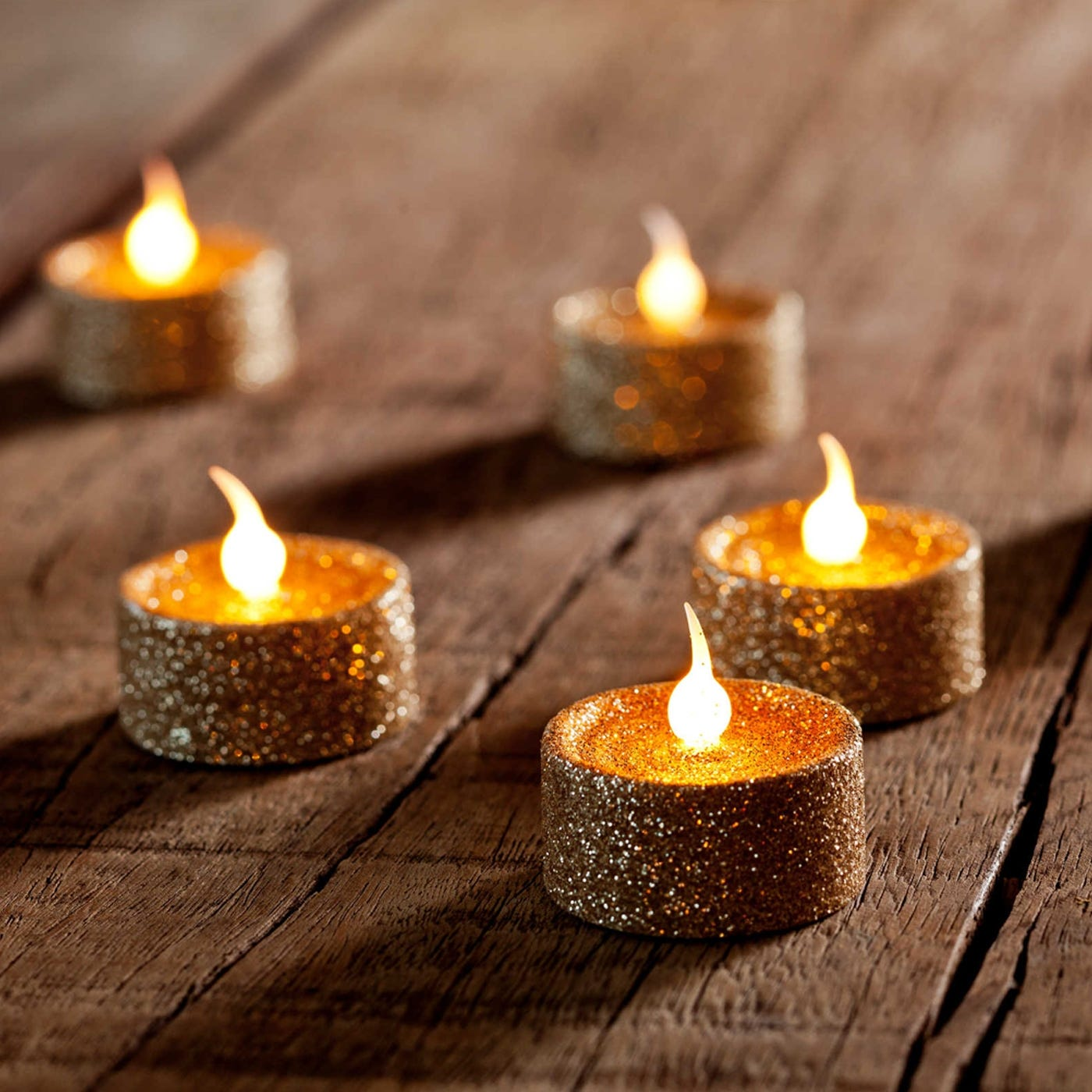 Lone Battery Tealights Set of 6
