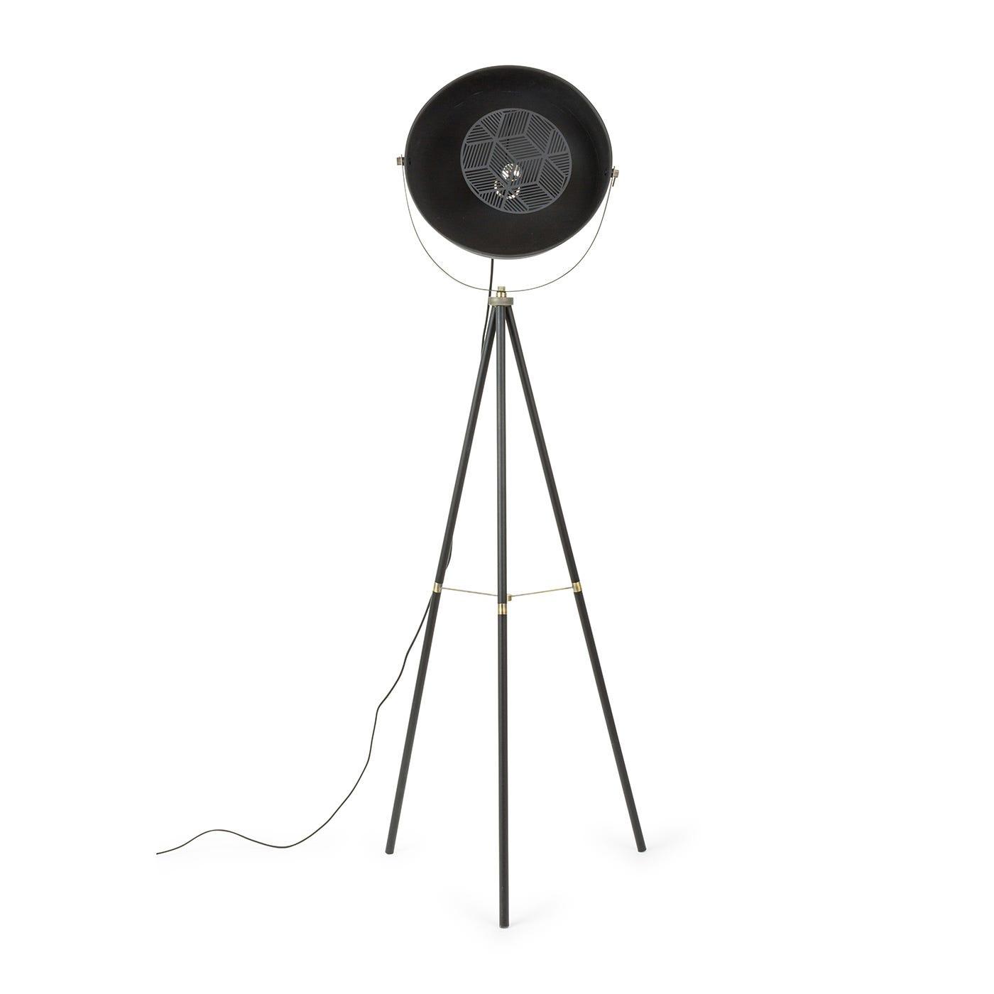 Charlie Floor Lamp Black