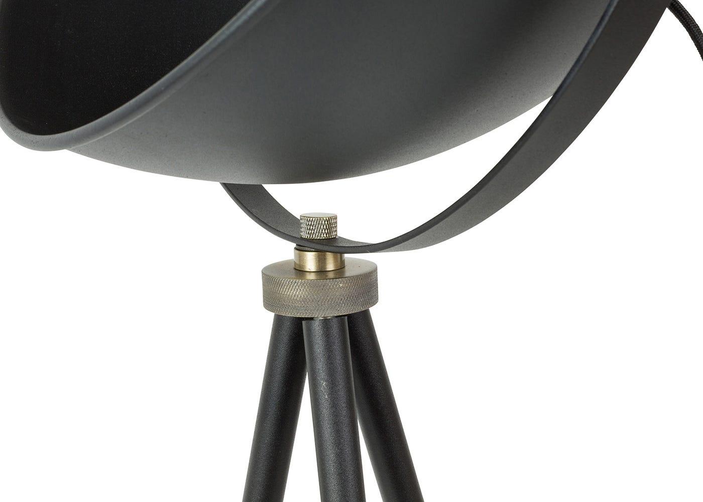Charlie floor light adjustable head detail