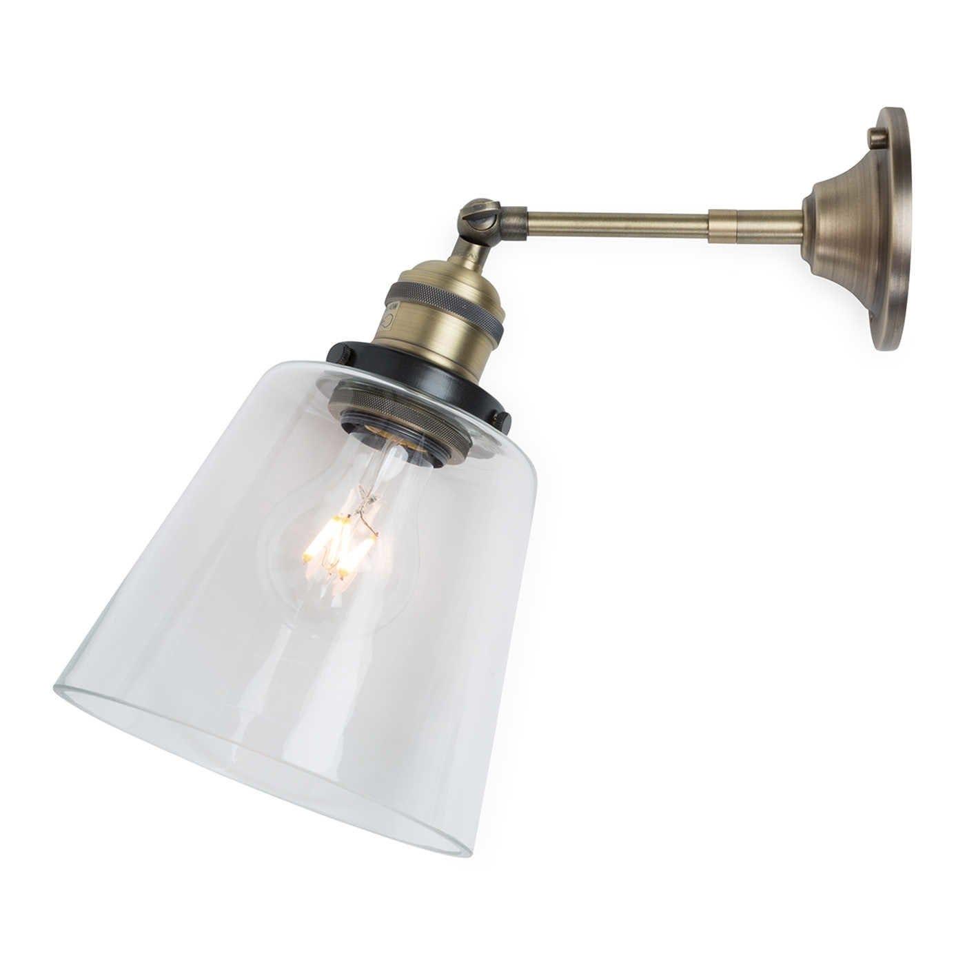 Olson Glass Cloche Wall Light