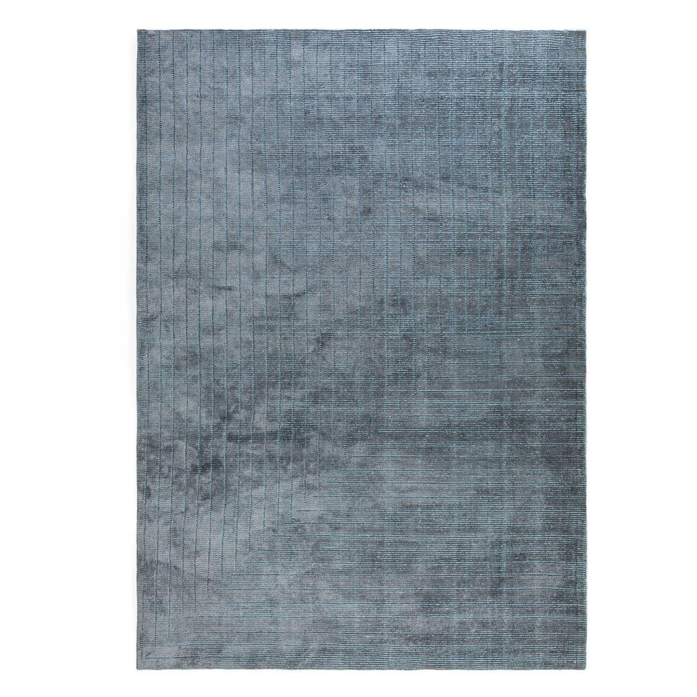 Corner Rug Blue