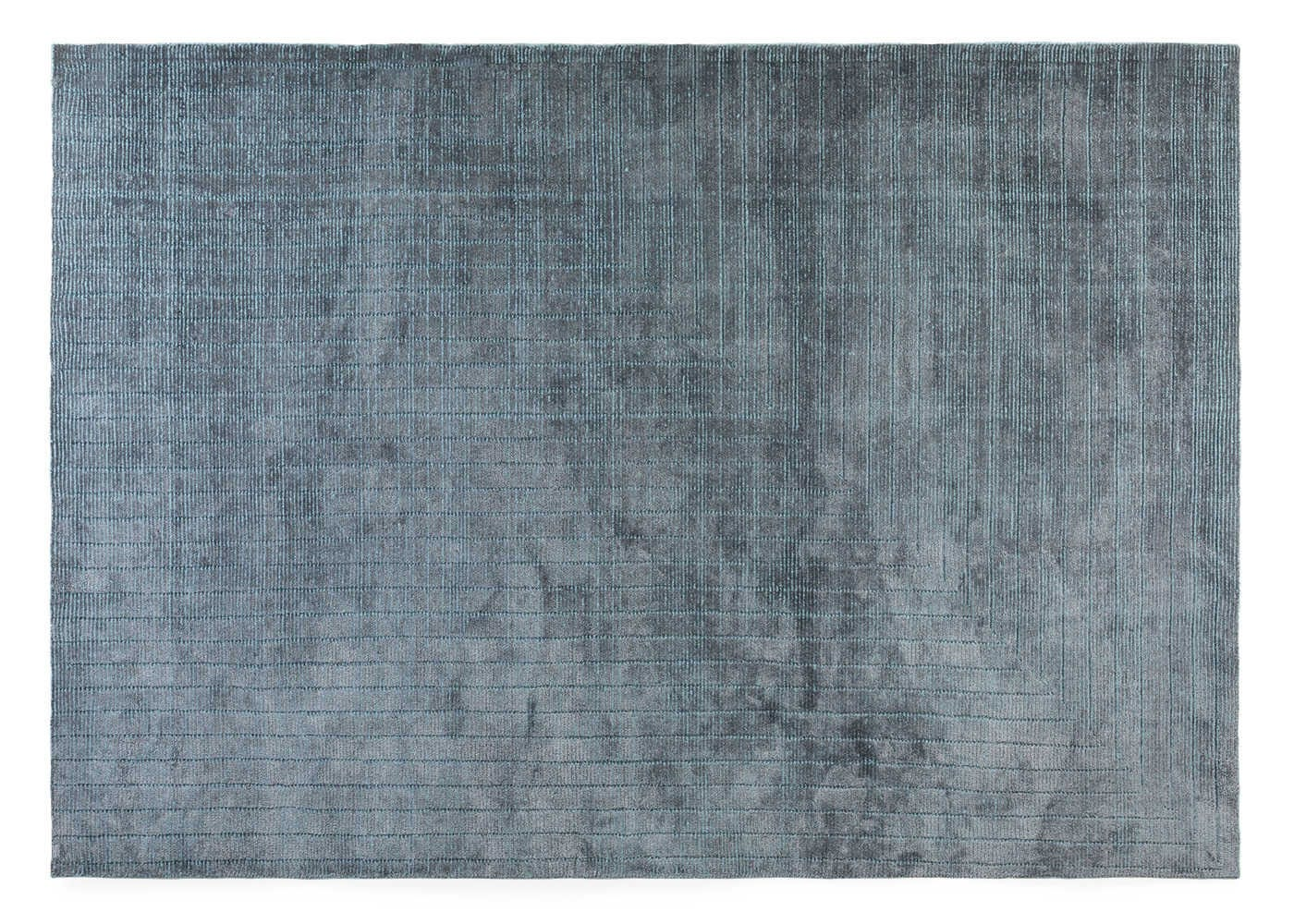 Corner rug blue 170 x 240cm