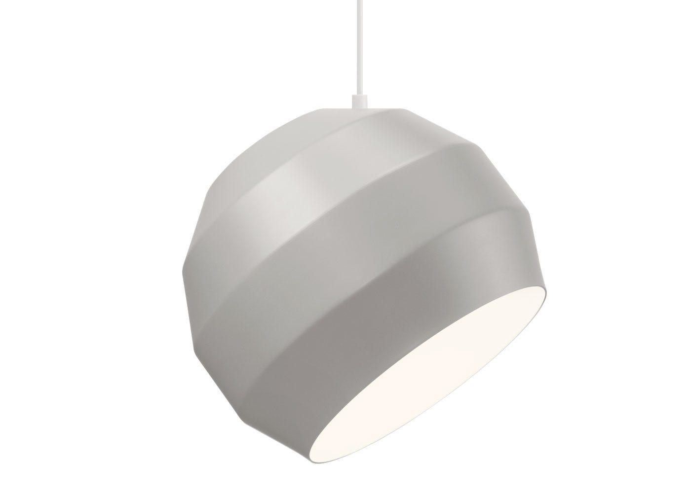 Pitch pendant light grey