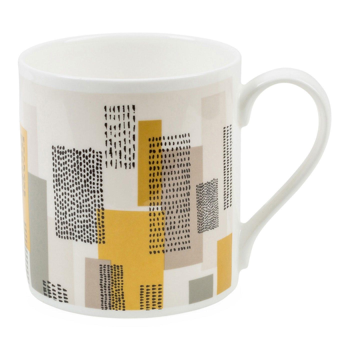 Abstract Metropolis Mug
