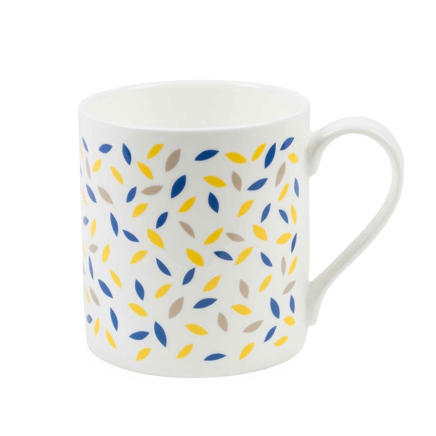 Pattern Leaf Jump Mug