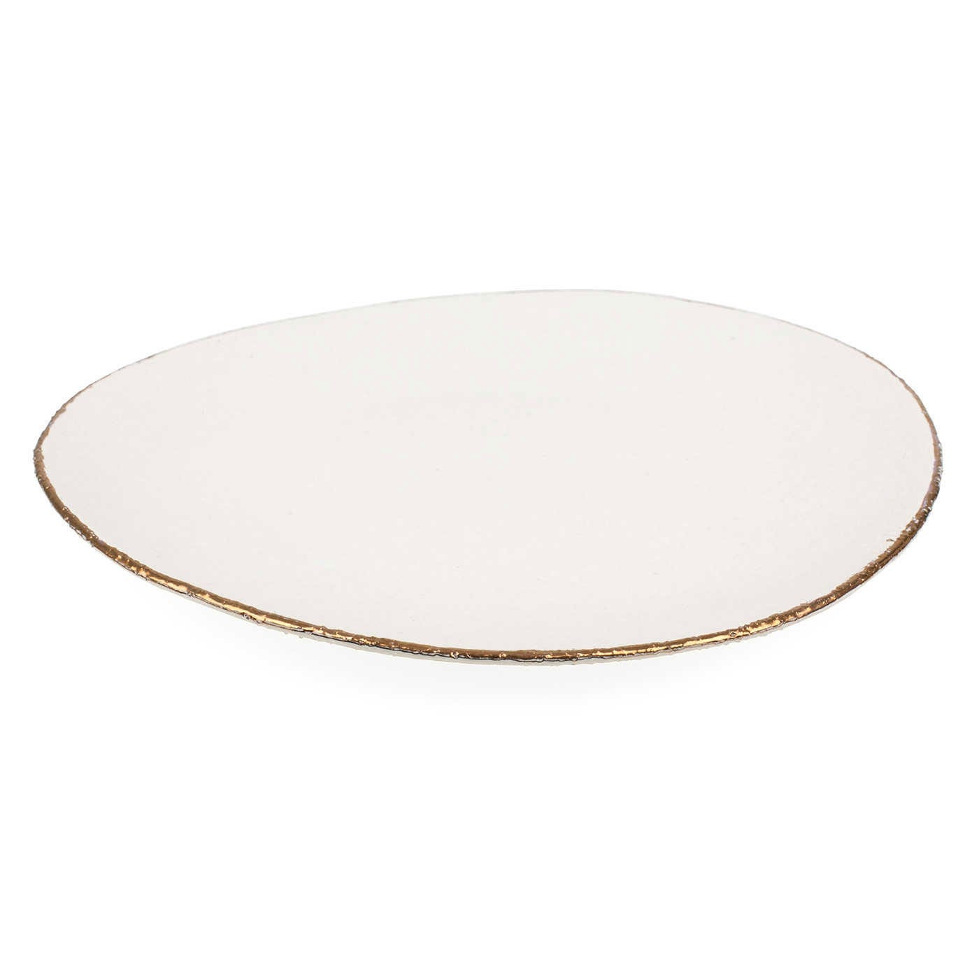 Natural Bronze Dinner Plate