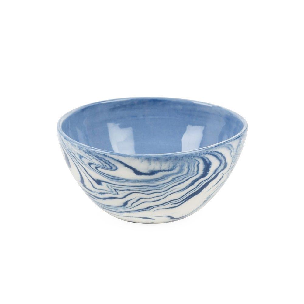Blue Marble Condiment Bowl
