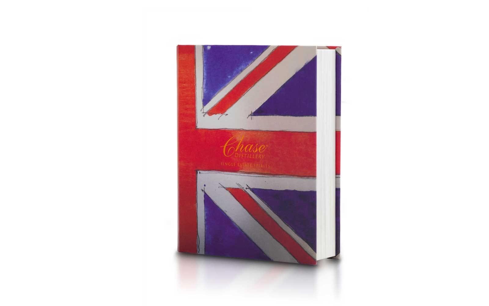 Chase trio set Union Jack presentation book