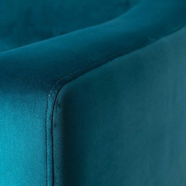 Luxurious smart velvet upholstery