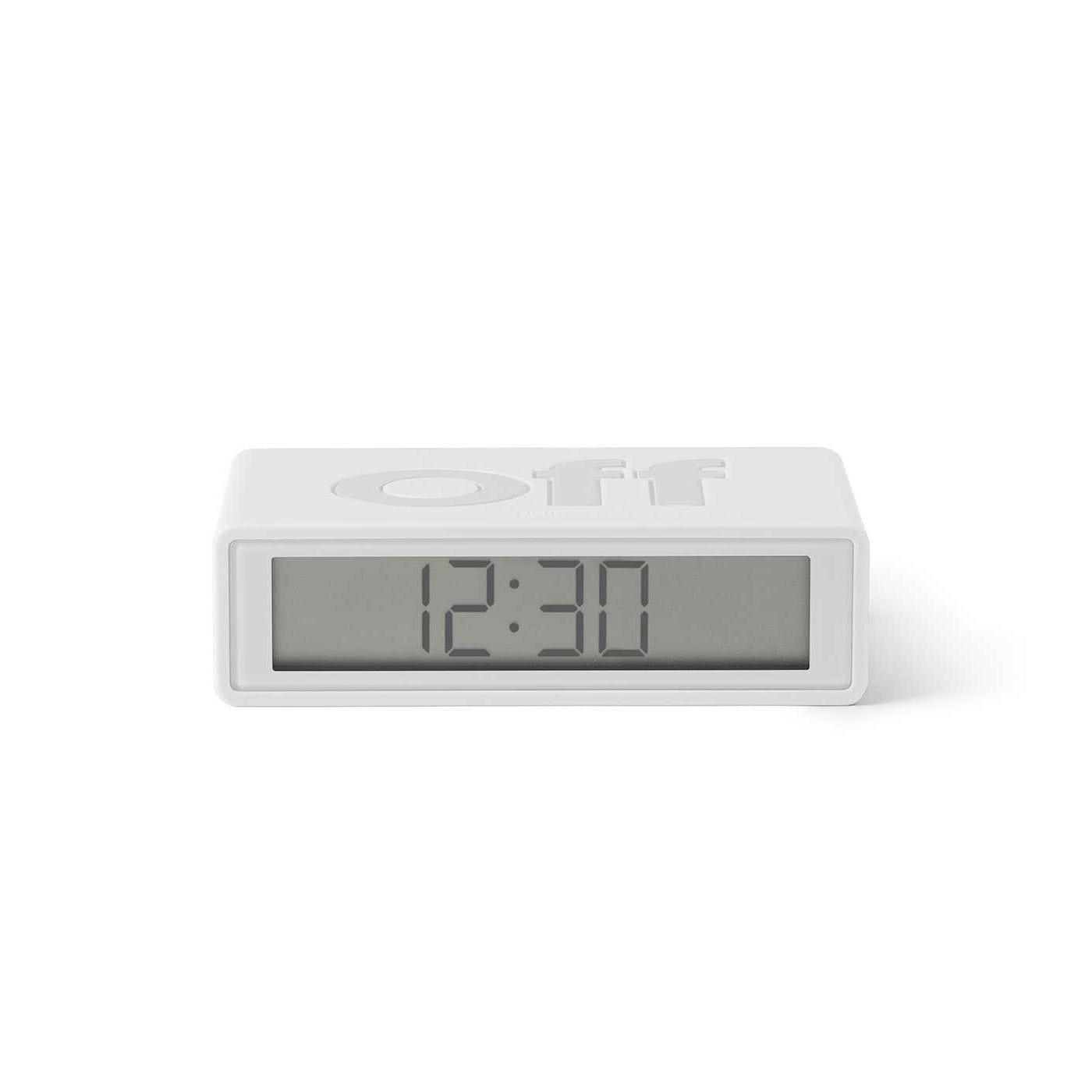 Flip Travel on off clock Off White