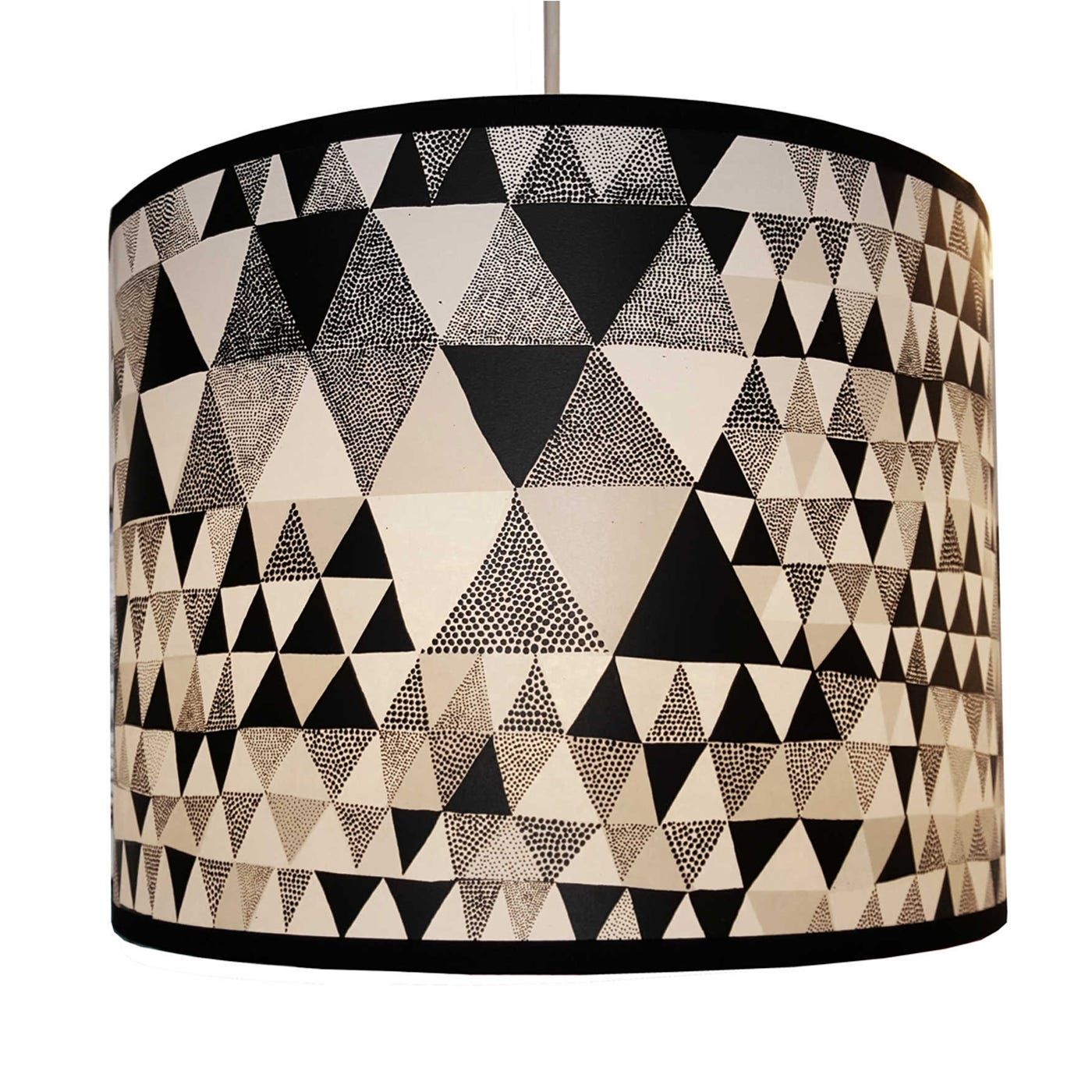 Lampshade Black Triangles