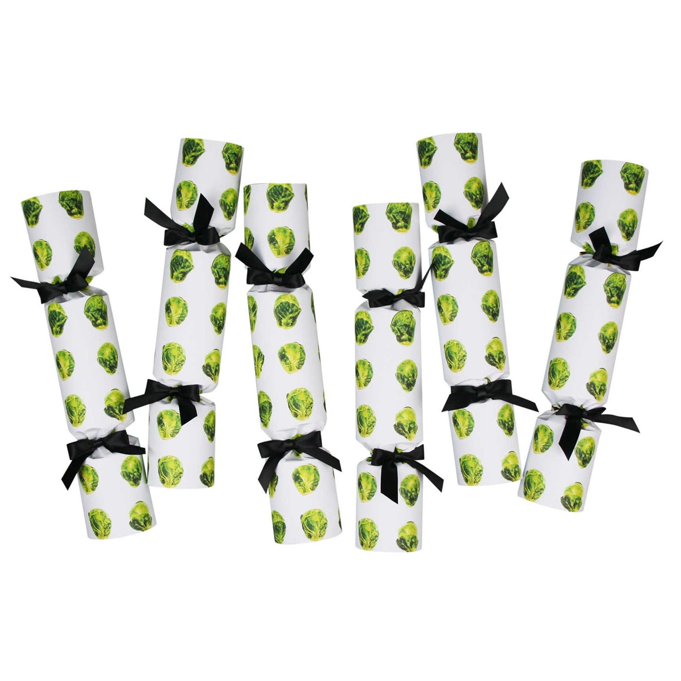 Brussels Sprouts Luxury Christmas Crackers