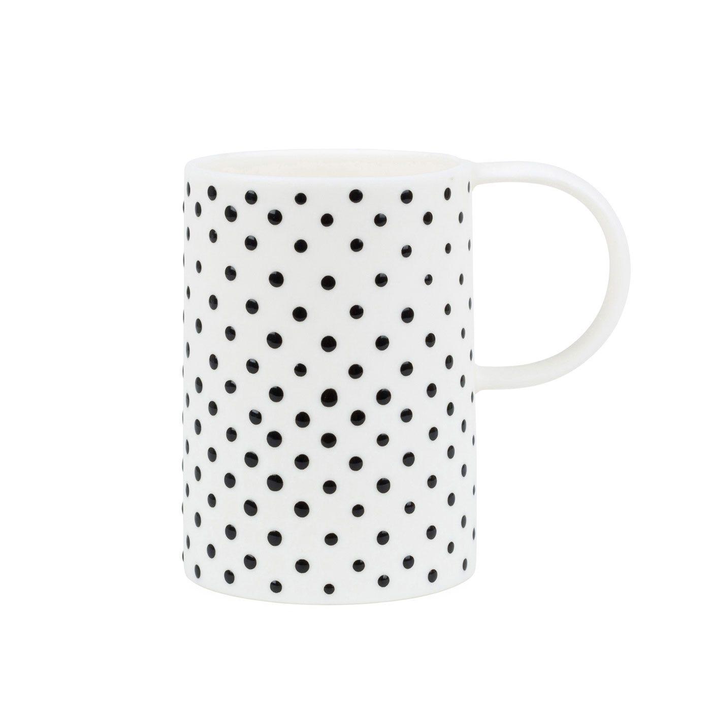 Spots Mug White