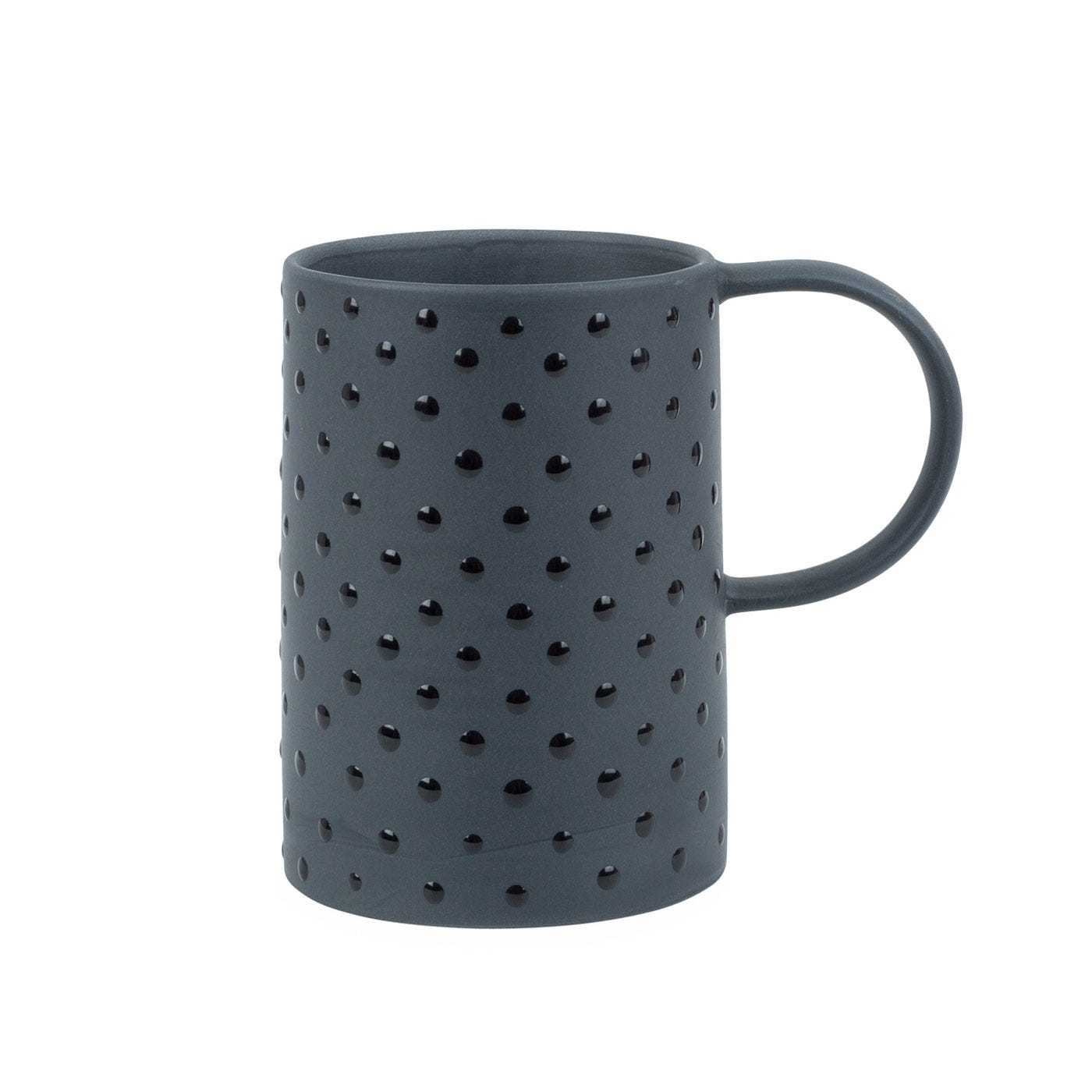 Spots Mug Black
