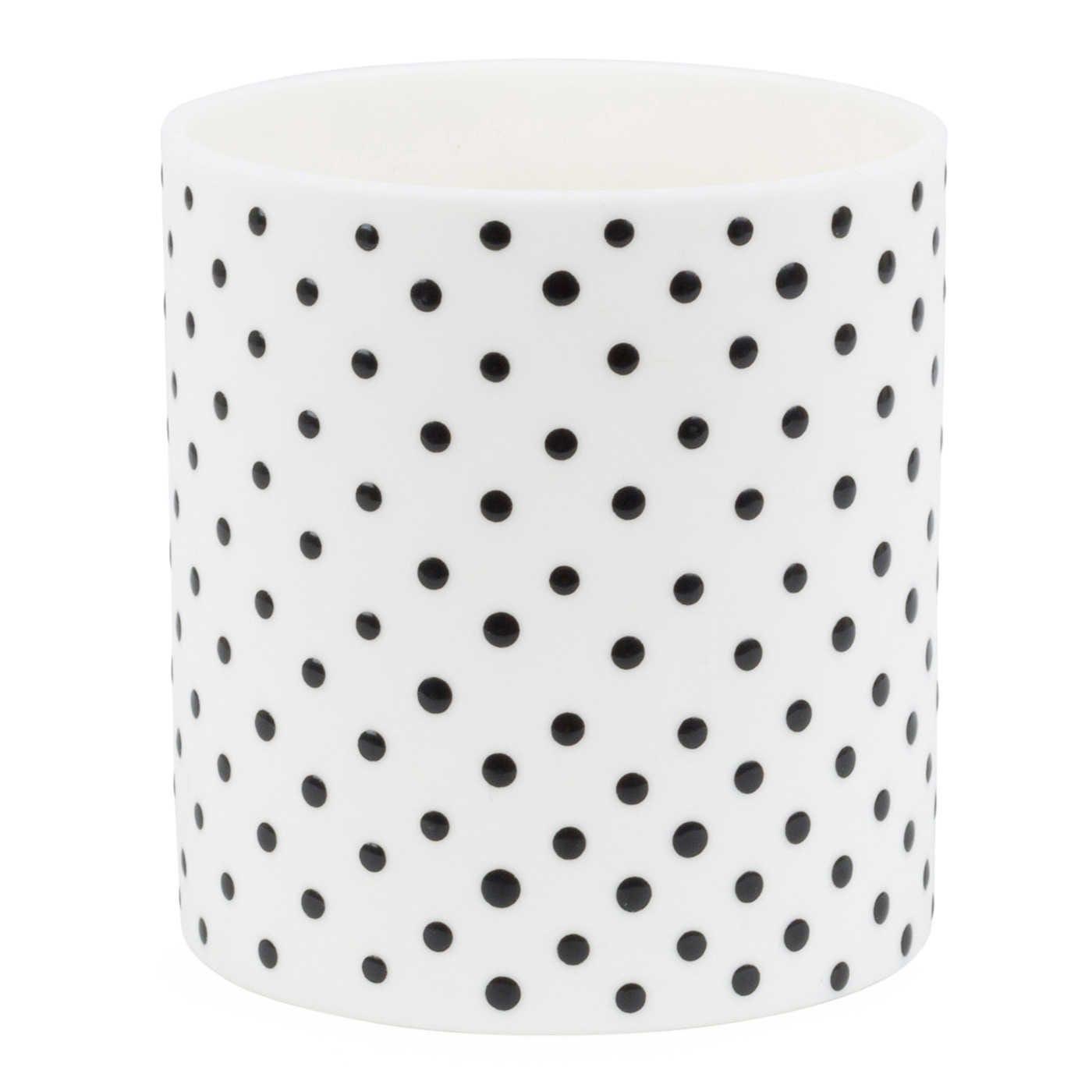 Spots Jar White
