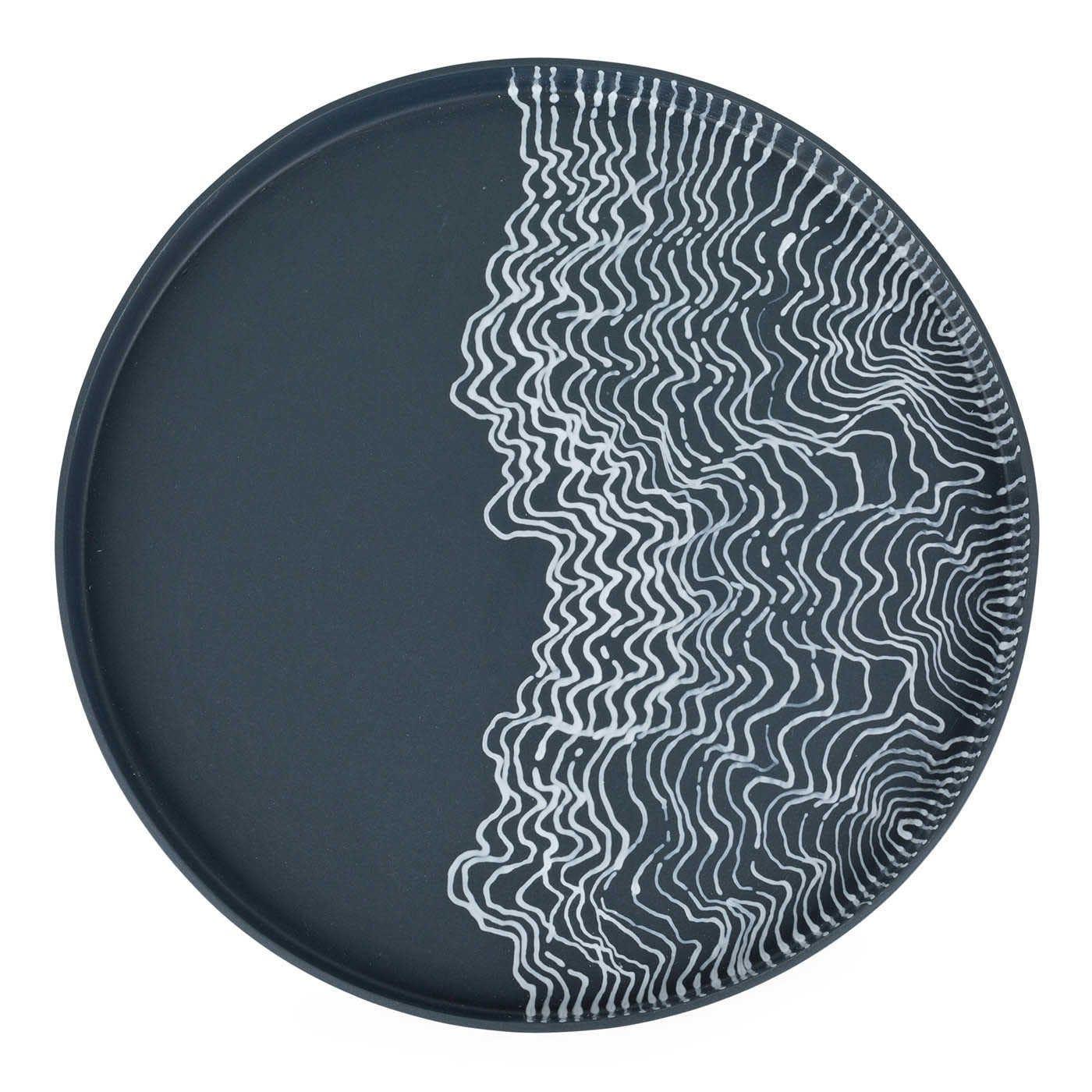 Estuarine Plate Black Medium