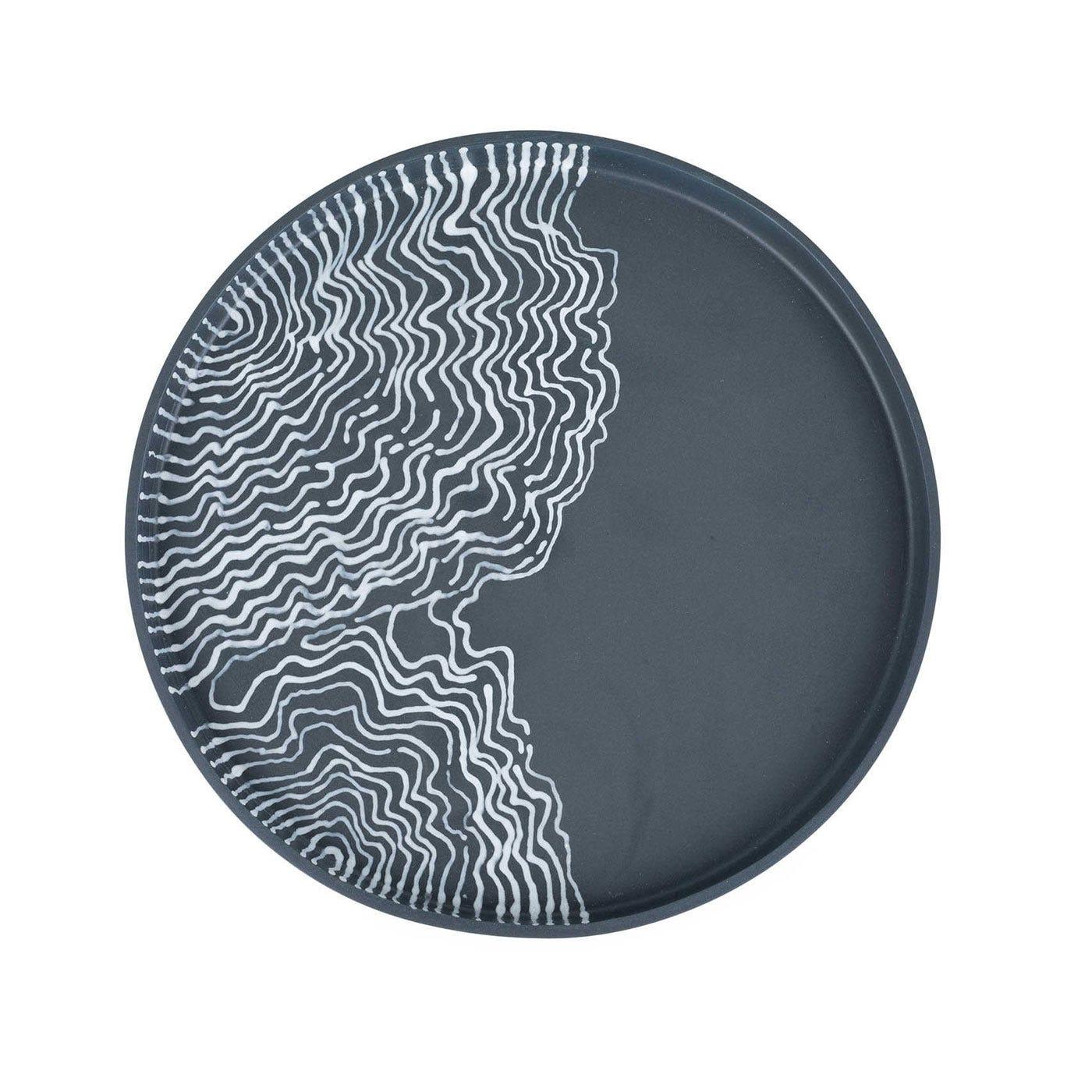 Estuarine Plate Black Small