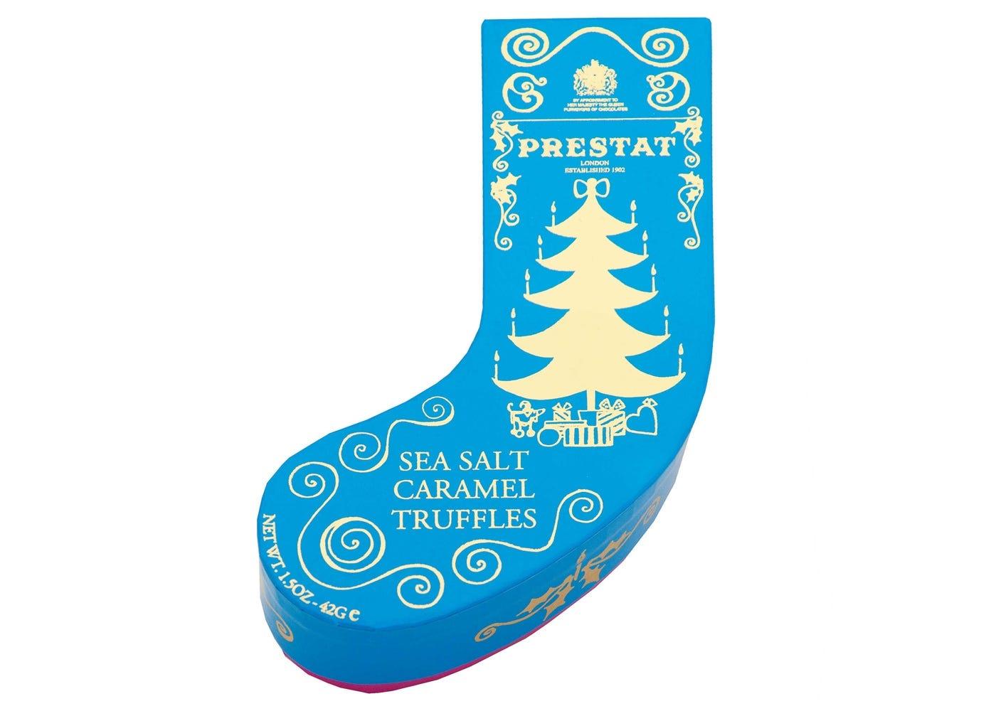 Prestat Stocking Box Caramel Sea Salt