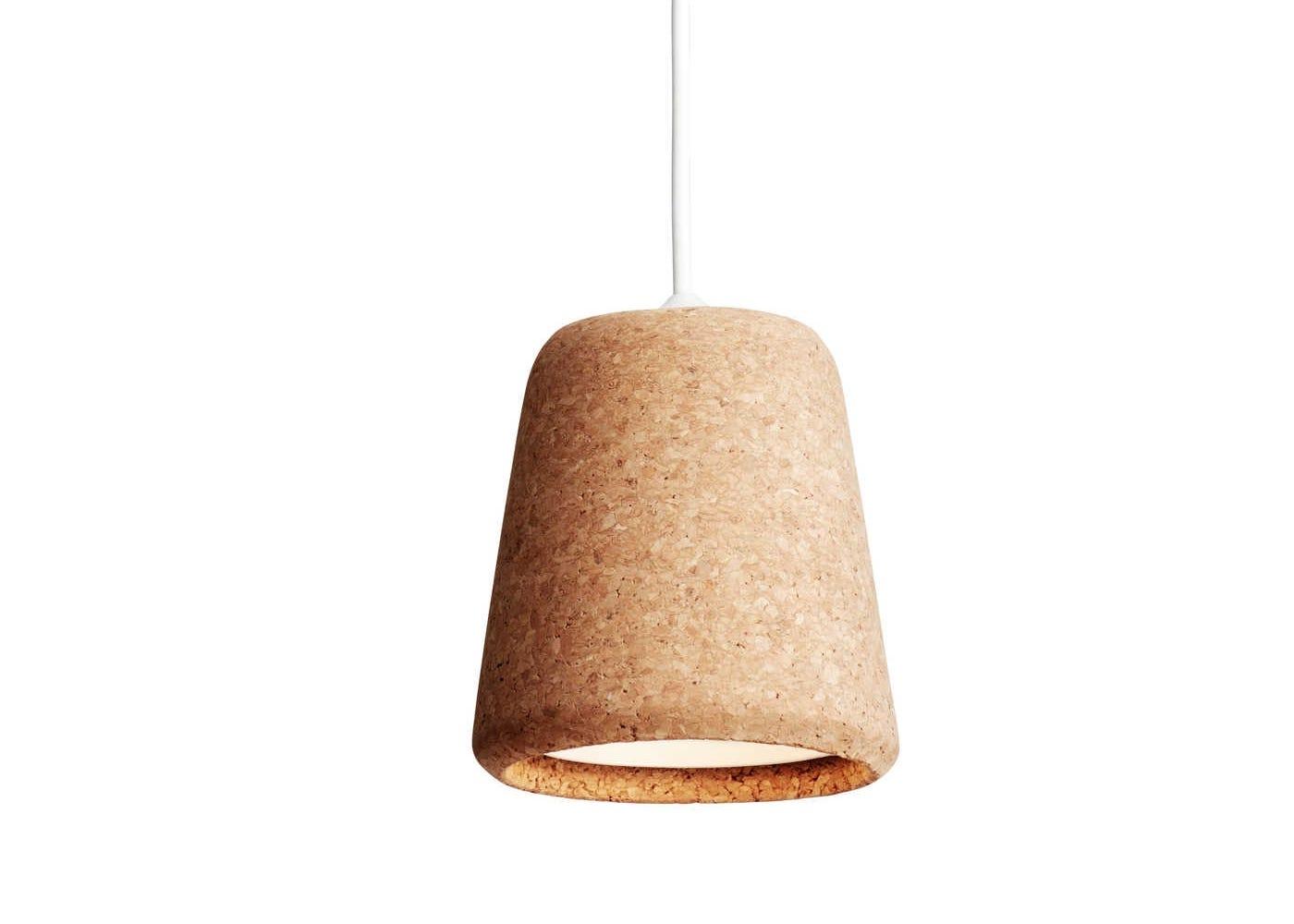 Material Pendant Natural Cork
