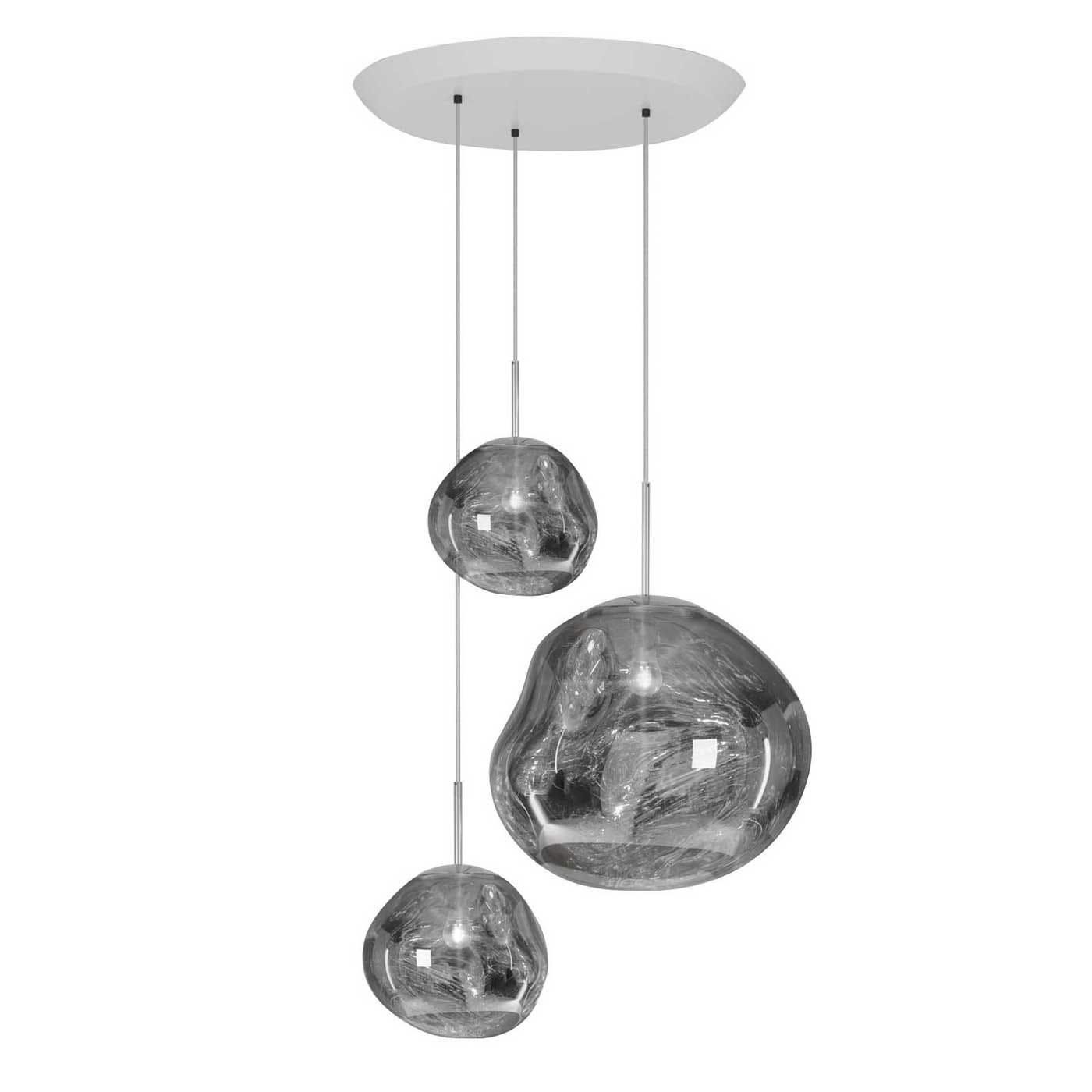 Melt Trio Round Pendant System