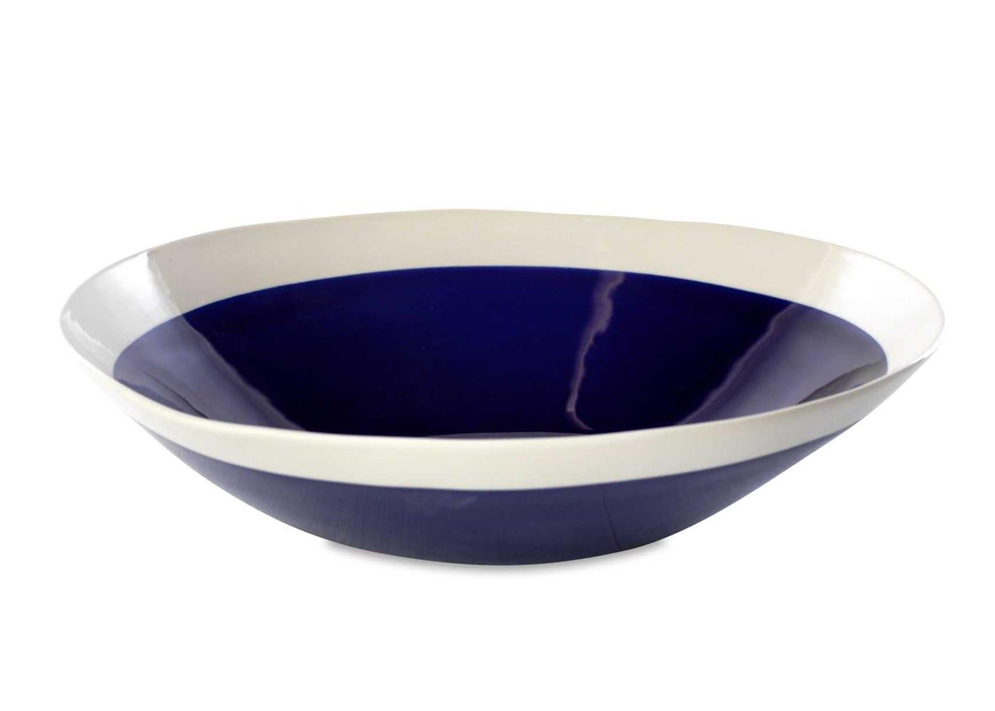 Datia Navy Serve Bowl Large