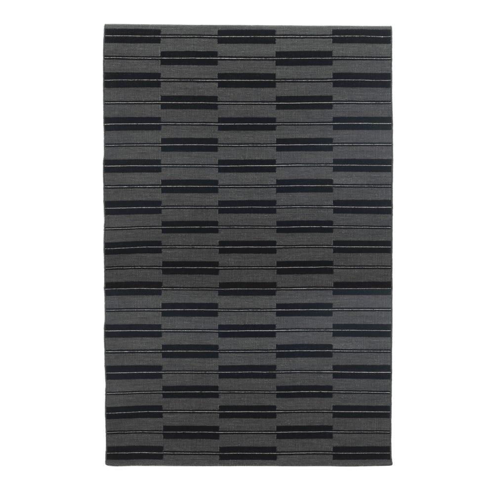 Spindle Flatweave Rug Flannel Grey