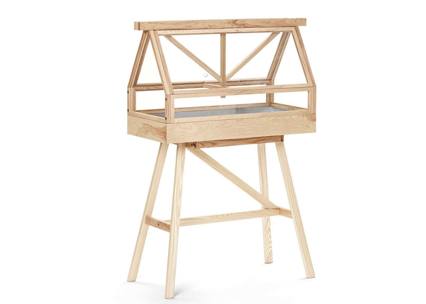 Greenhouse top on pedestal base (sold separately)