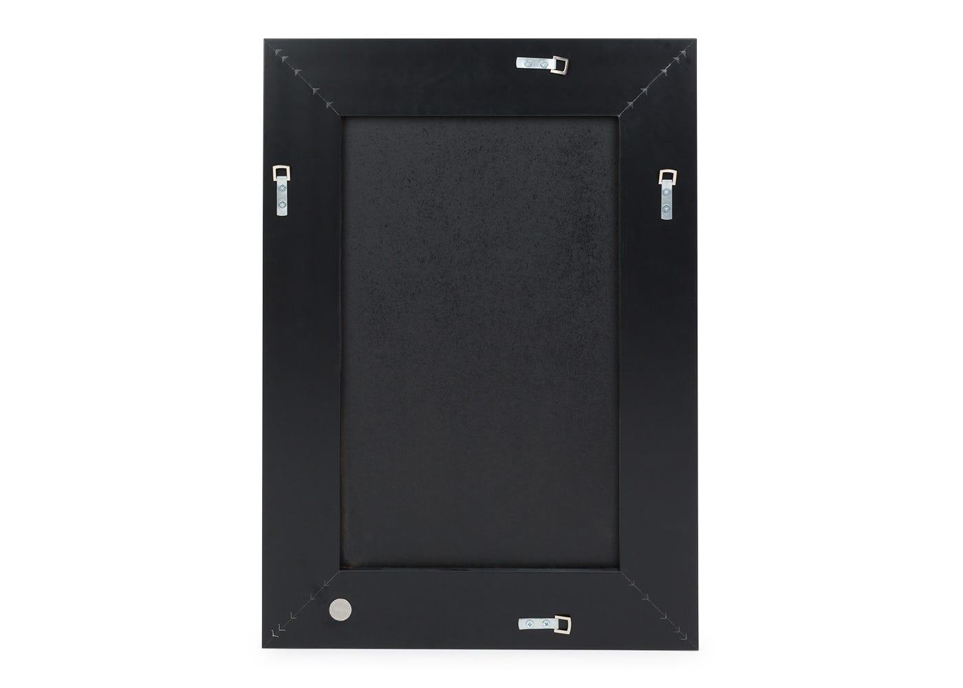 Bevelled edge mirror medium wall fixture.