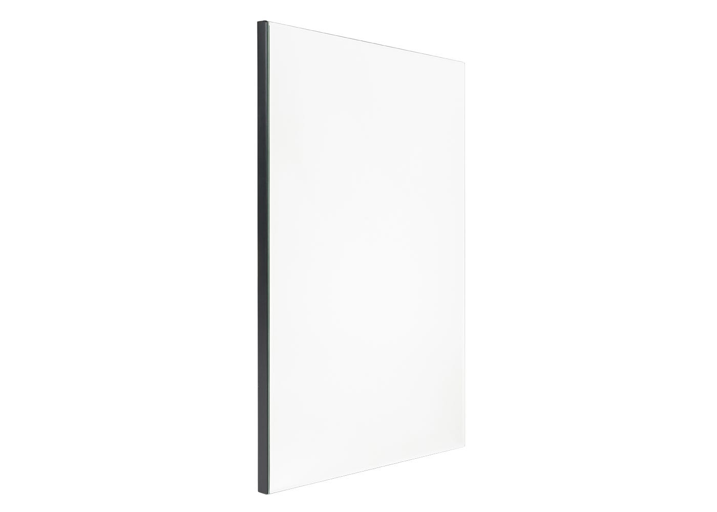 Bevelled edge mirror large side view