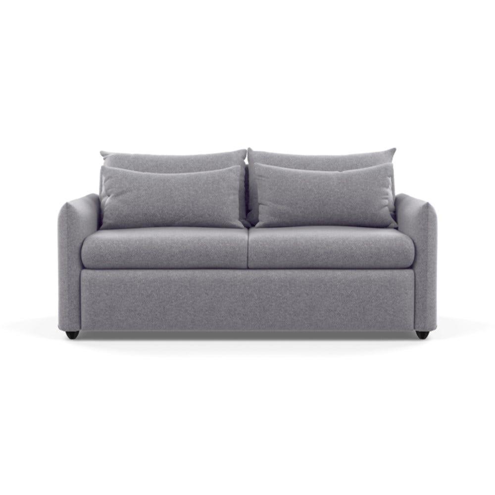Pillow Sofa Bed Wool Felt Wolf Black Feet