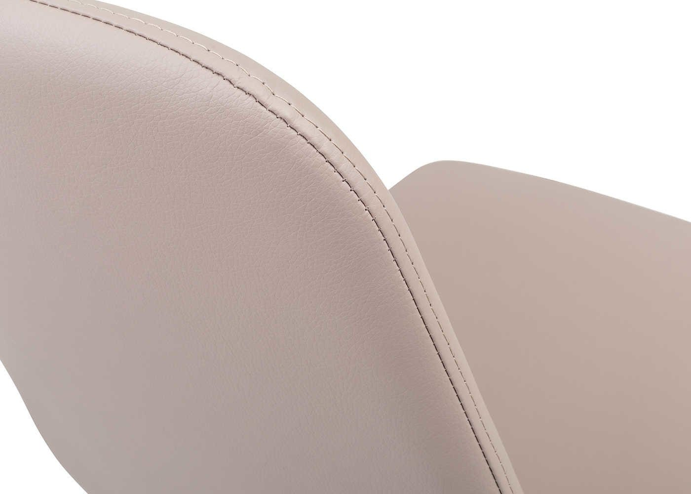 Leather Effect Taupe detail